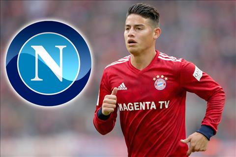 James Rodriguez chia tay Real Madrid và Bayern Munich vì Napoli hình ảnh