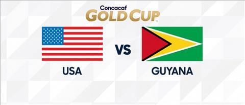 Mỹ vs Guyana 9h00 ngày 196 (Gold Cup 2019) hình ảnh