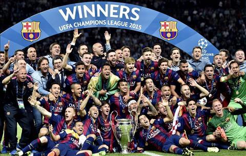 Champions League 2015 Barcelona
