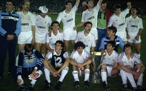 Europa League 1986 Real Madrid