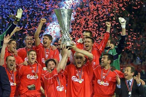 Europa League 2001 Liverpool