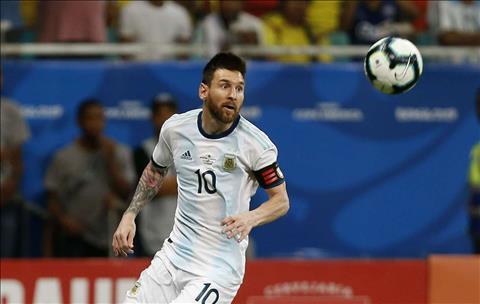 Doi hinh tieu bieu vong bang Copa America 2019: Vang bong Messi