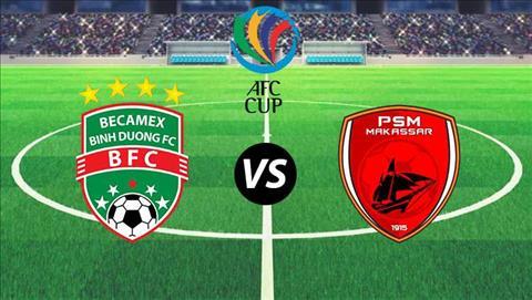 Lịch thi đấu Bình Dương vs PSM hôm nay 196 - LTĐ AFC Cup 2019 hình ảnh