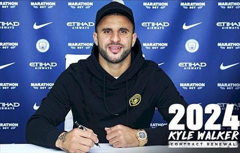 Kyle Walker gia hạn hợp đồng với Man City thêm 2 năm hình ảnh