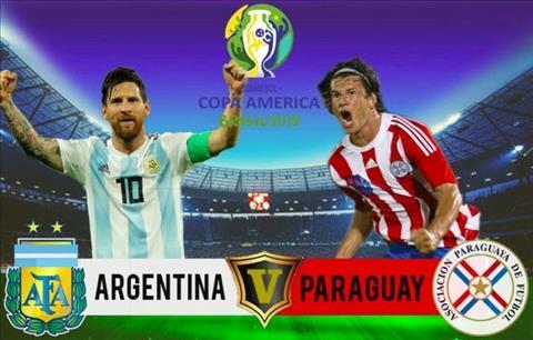 Trực tiếp Argentina vs Paraguay bảng B Copa America 2019 hôm nay hình ảnh