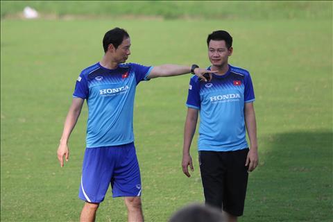 U23 Viet Nam ban huan luyen