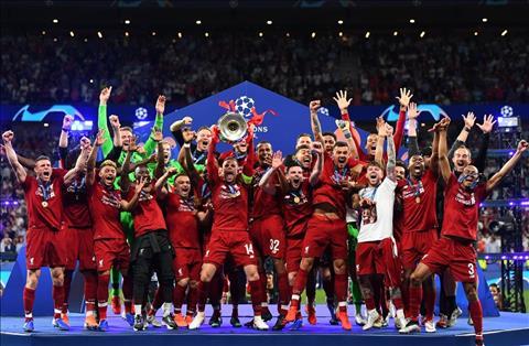 Liverpool vo dich Champions League