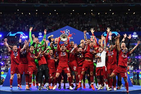 Clip Liverpool nâng cao cúp vô địch Champions League 2019 hình ảnh