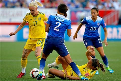 Nữ Thụy Điển vs Nữ Mỹ 2h00 ngày 216 (FIFA World Cup nữ 2019) hình ảnh