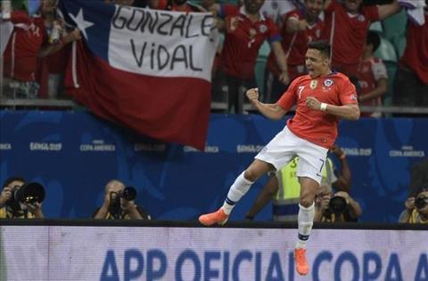 Alexis Sanchez tai Chile