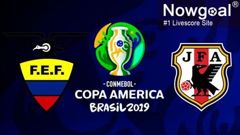 Ecuador vs Nhật Bản 6h00 ngày 256 (Copa America 2019) hình ảnh
