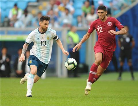 Messi nói gì khi Argentina vào tứ kết Copa America 2019 hình ảnh