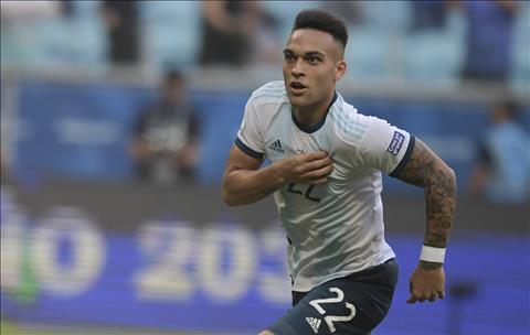 Tiền đạo Lautaro Martinez của Inter bật đèn xanh cho Man City hình ảnh