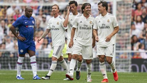 Clip bàn thắng kết quả Huyền thoại Real Madrid vs Chelsea 5-4 hình ảnh