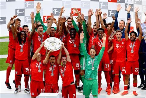 Top 5 CLB vô địch Bundesliga nhiều nhất lịch sử hình ảnh