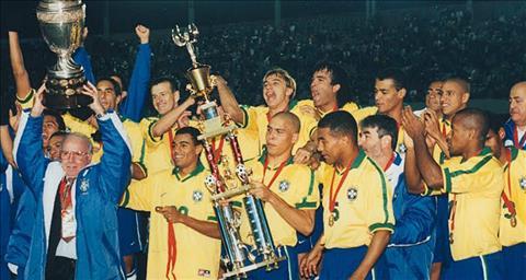 DT Brazil co 8 lan vo dich Copa America.