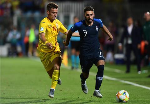 U21 Phap vs U21 Romania