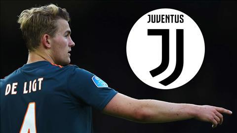 De Ligt dat duoc thoa thuan voi Juventus