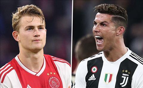 De Ligt thần thượng Ronaldo từ nhỏ và chọn tới Juventus hình ảnh