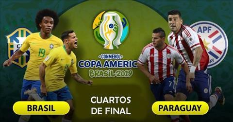 Lịch thi đấu Brazil vs Paraguay ngày 276- LTĐ Copa America 2019 hình ảnh