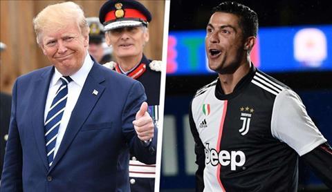 Tổng thống Trump ngưỡng mộ sức hút của Ronaldo hình ảnh