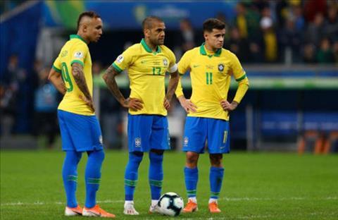 Truoc do, trong ca tran dau, Brazil hoan toan bat luc trong khau ghi ban
