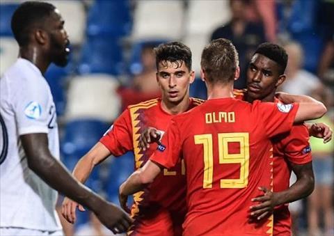 Clip bàn thắng kết quả U21 Tây Ban Nha vs U21 Pháp 4-1 châu Âu hình ảnh
