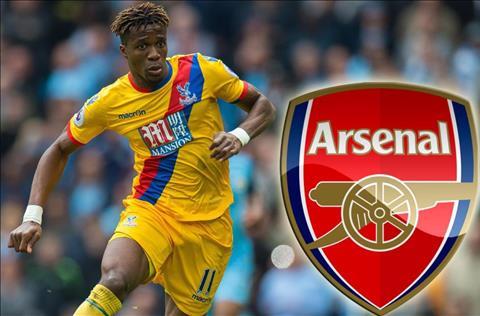 Crystal Palace từ chối bán Zaha cho Arsenal hình ảnh