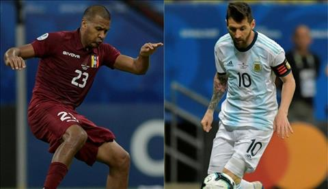 Argentina vs Venezuela xem trực tiếp tứ kết Copa America ở đâu  hình ảnh