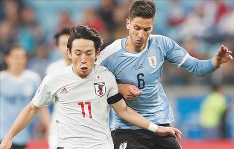 Uruguay vs Nhat Ban