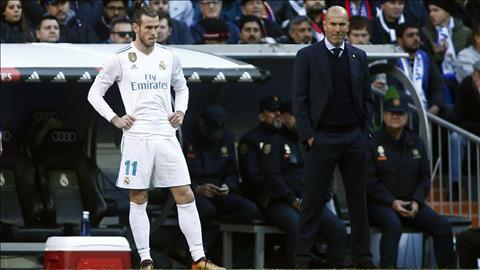 Gareth Bale mâu thuẫn với HLV Zidane hình ảnh