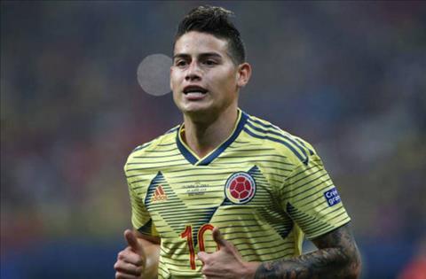 Atletico xác nhận tiếp tục theo đuổi James Rodriguez hình ảnh
