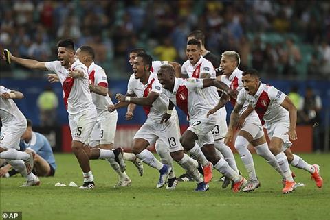 Peru lan thu 3 trong 4 ky Copa America gan nhat co mat o ban ket giai dau