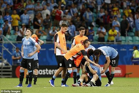 Uruguay 0-0 (pen 4-5) Peru Thất bại trên chấm luân lưu 11m, Luis Suarez đá bay đội nhà khỏi Copa America 2019 hình ảnh 2
