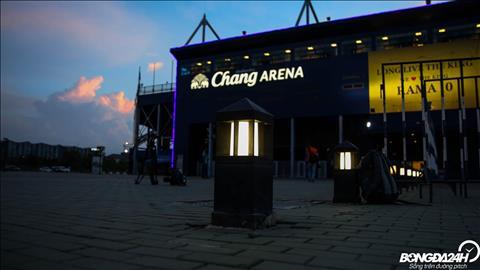 Ca bon tran dau tai Kings Cup 2019 deu to chuc tren san Chang Arena.