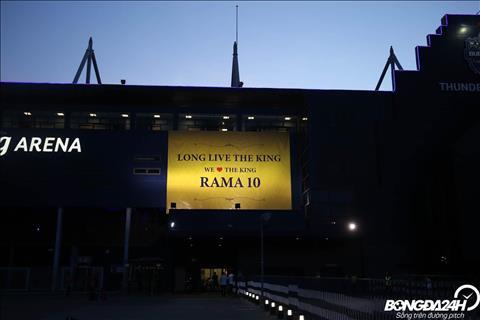 Loi chuc danh cho vua Rama 10 tai san Chang Arena.