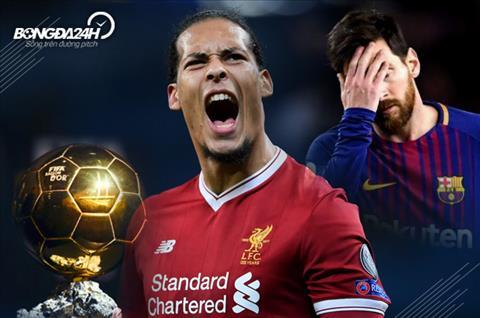 Van Dijk va Messi 1