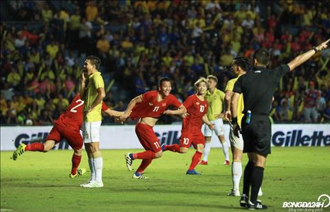 ĐT Việt Nam tích lũy thêm điểm số sau trận thắng Thái Lan hình ảnh