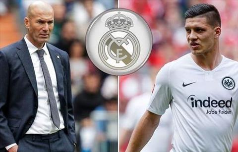 Zidane va Jovic tai Real