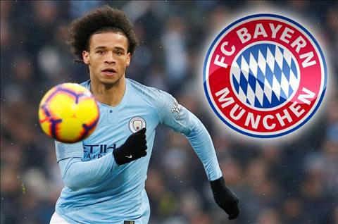 Leroy Sane từ chối bình luận về tin đồn sang Bayern Munich hình ảnh