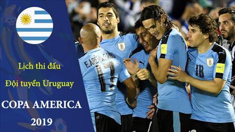 Lịch thi đấu của Uruguay ở Copa America 2019 - LTĐ bóng đá Nam Mỹ hình ảnh