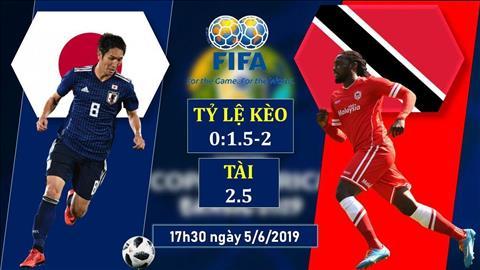Nhật Bản vs Trinidad 17h30 ngày 56 (Giao hữu quốc tế) hình ảnh