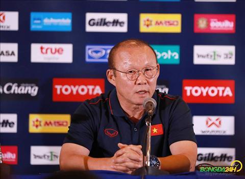 Video: HLV Park Hang Seo noi gi sau tran dau Viet Nam 1-0 Thai Lan