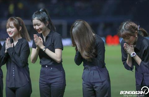 BTC Kings Cup 2019 ghi diem voi dan hoat nao vien xinh dep tran Thai Lan vs Viet Nam.