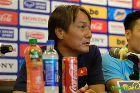 Trợ lý Nguyễn Văn Đàn đánh giá đối thủ U23 Myanmar hình ảnh