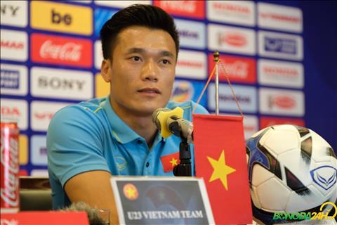 Bùi Tiến Dũng chia sẻ trước trận gặp U23 Myanmar hình ảnh