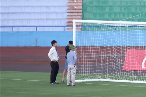 SVĐ Phú Thọ gặp sự cố trước trận giao hữu của U23 Việt Nam hình ảnh