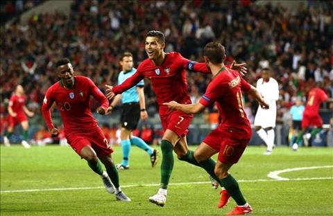 Ronaldo cung Bo Dao Nha chien thang