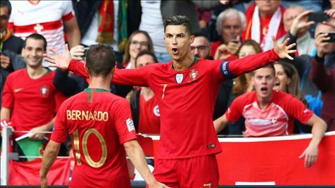 Cristiano Ronald tỏa sáng trước Thụy Sỹ BĐN vào chung kết hình ảnh