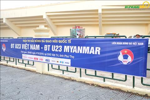 Chùm ảnh Bầu không khí trước trận U23 Việt Nam vs U23 Myanmar hình ảnh